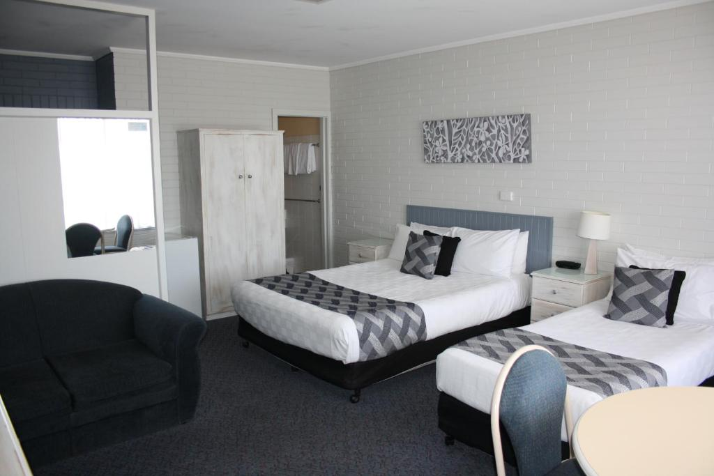 Lakeview Motel Standard Room - robeaccommodation